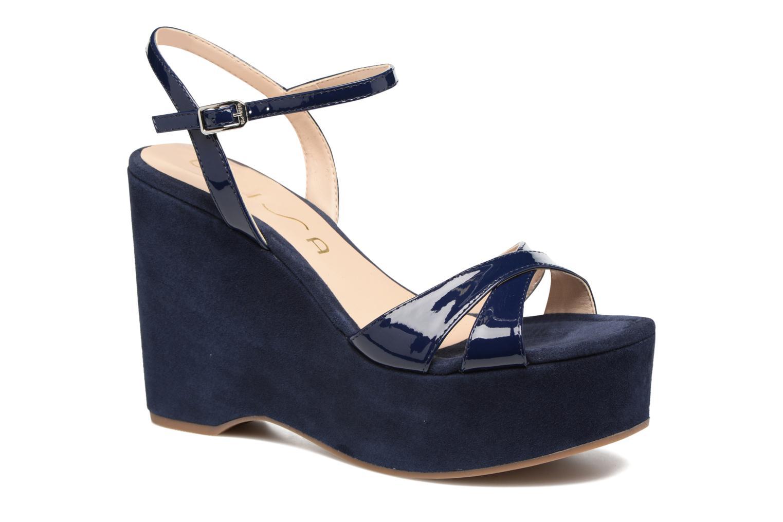 Sandaler Unisa Usain Blå detaljeret billede af skoene