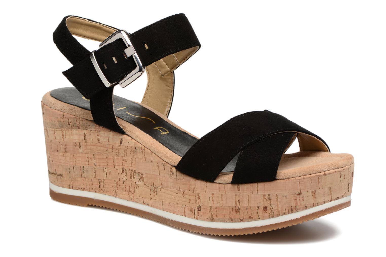 Grandes descuentos últimos zapatos Unisa Karpi (Negro) - Sandalias Descuento