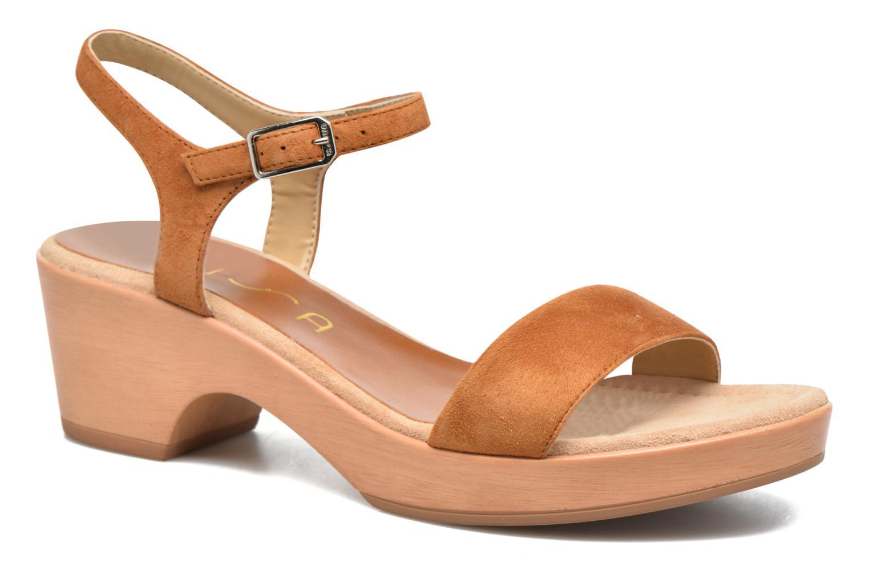 Unisa Irita 3 (Marron) - Sandales et nu-pieds chez Sarenza (286327)