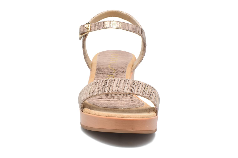 Sandales et nu-pieds Unisa Irita 3 Argent vue portées chaussures
