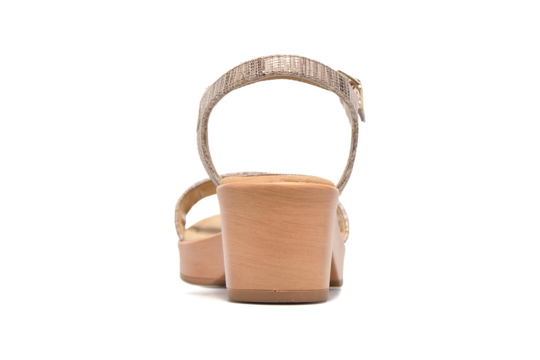 Sandales et nu-pieds Unisa Irita 3 Argent vue droite