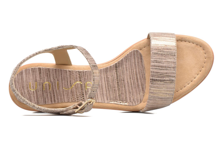 Sandales et nu-pieds Unisa Irita 3 Argent vue gauche