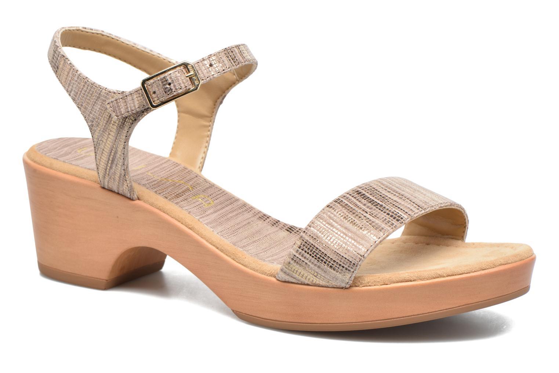 Sandales et nu-pieds Unisa Irita 3 Argent vue détail/paire