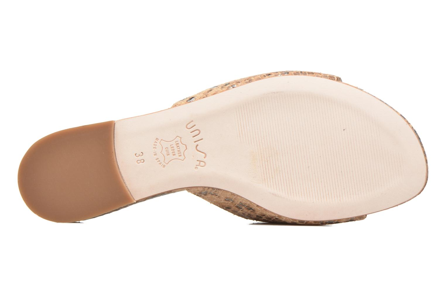 Mules & clogs Unisa Carito Beige view from above