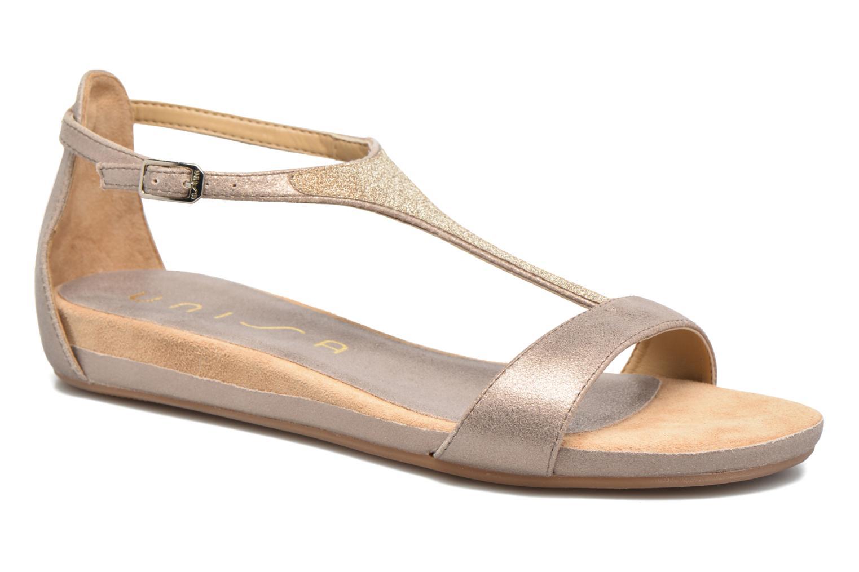 Zapatos casuales salvajes Unisa Apice (Beige) - Sandalias en Más cómodo