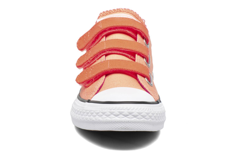 Sneaker Converse Chuck Taylor All Star 3V Ox orange schuhe getragen