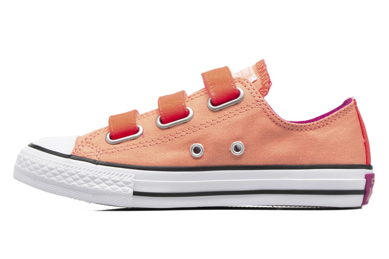 Sneaker Converse Chuck Taylor All Star 3V Ox orange ansicht von vorne