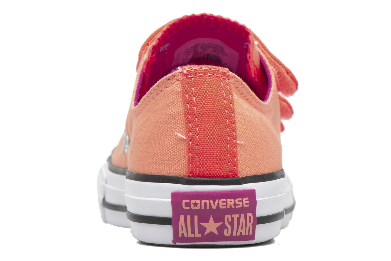 Sneaker Converse Chuck Taylor All Star 3V Ox orange ansicht von rechts