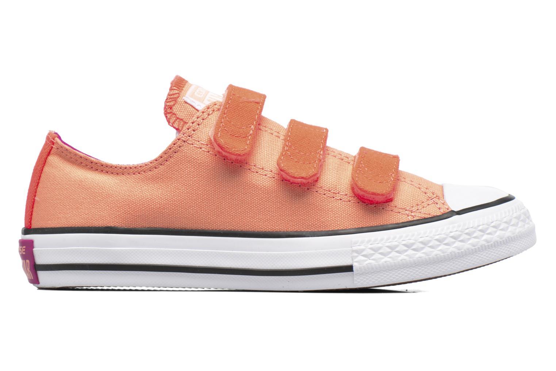 Sneaker Converse Chuck Taylor All Star 3V Ox orange ansicht von hinten