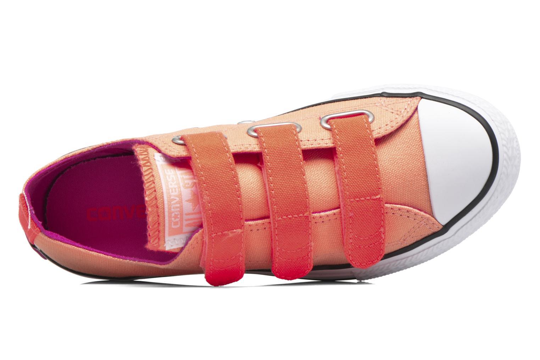 Sneaker Converse Chuck Taylor All Star 3V Ox orange ansicht von links