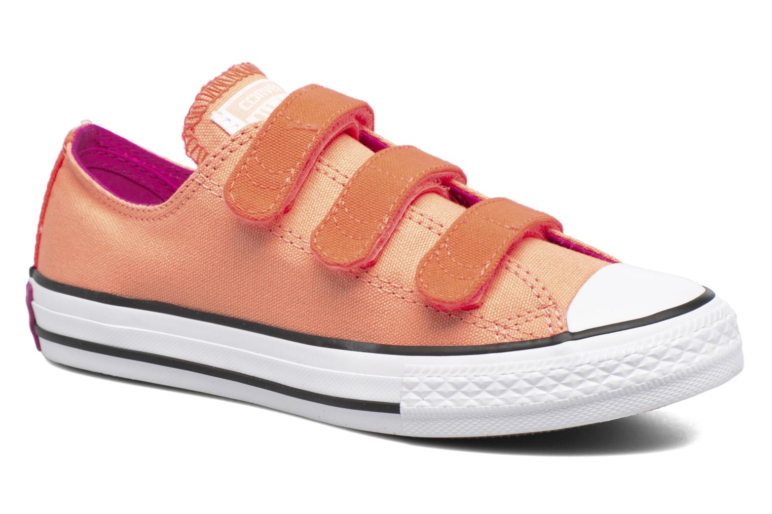 Sneakers Converse Chuck Taylor All Star 3V Ox Oranje detail