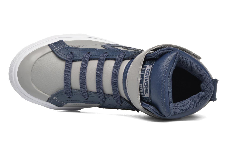 Baskets Converse Pro Blaze Strap Stretch Gris vue gauche