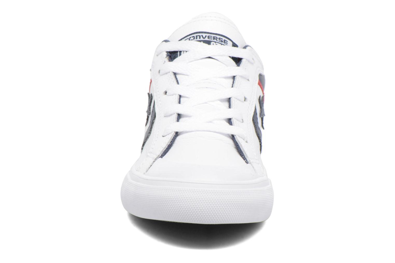 White/Athletic Navy/Casino Converse Pro Blaze Ox (Blanc)
