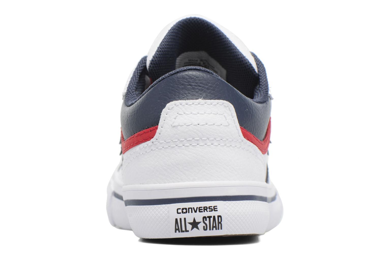 Baskets Converse Pro Blaze Ox Blanc vue droite