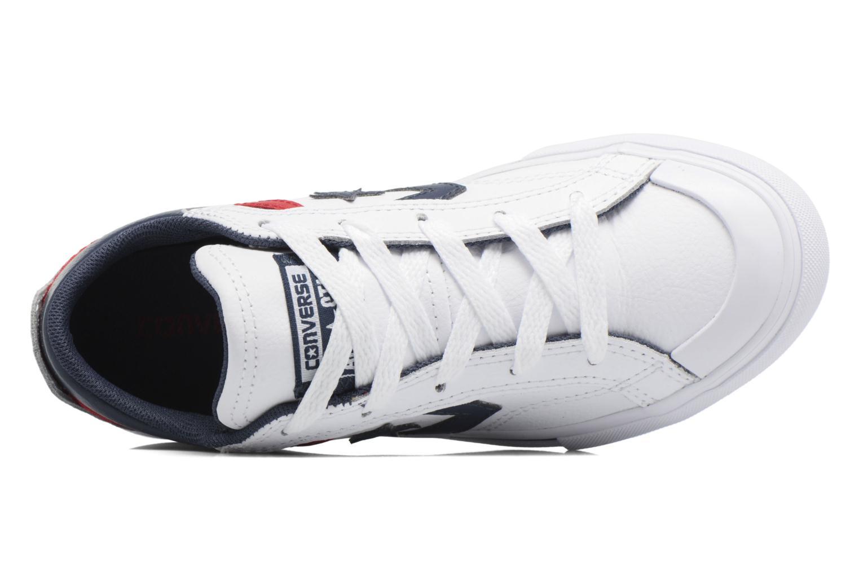 Baskets Converse Pro Blaze Ox Blanc vue gauche