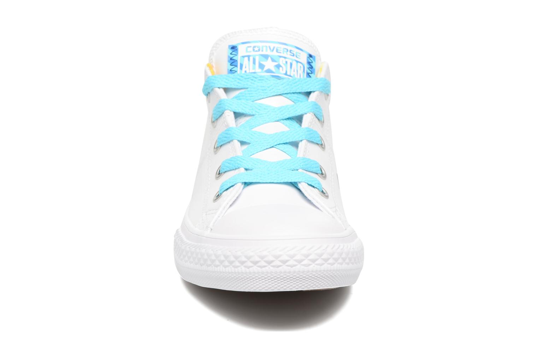 Lemon Chuck All Star Haze Taylor Blanc Converse Madison Ox White Cyan TOW6a46S