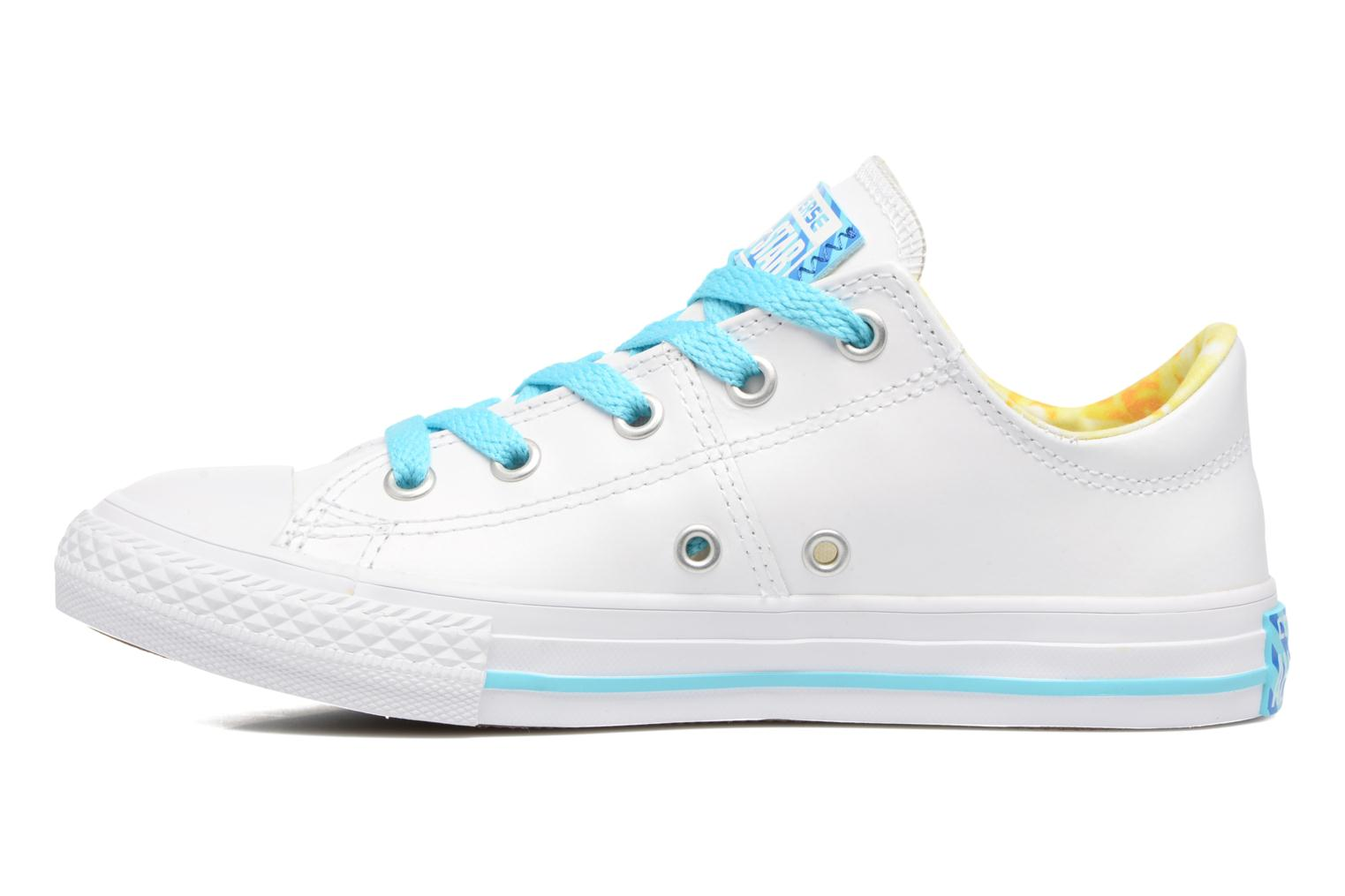 Baskets Converse Chuck Taylor All Star Madison Ox Blanc vue face