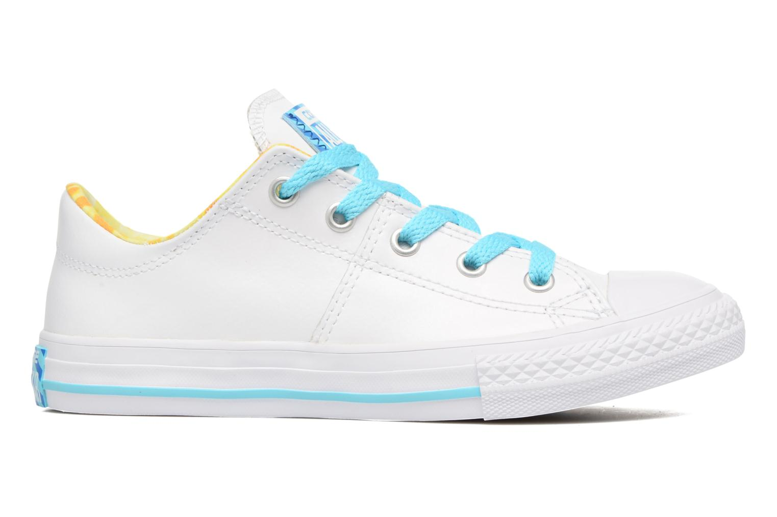 Baskets Converse Chuck Taylor All Star Madison Ox Blanc vue derrière