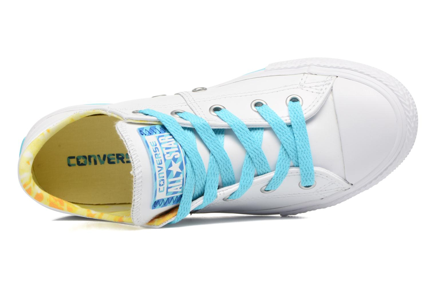 Baskets Converse Chuck Taylor All Star Madison Ox Blanc vue gauche