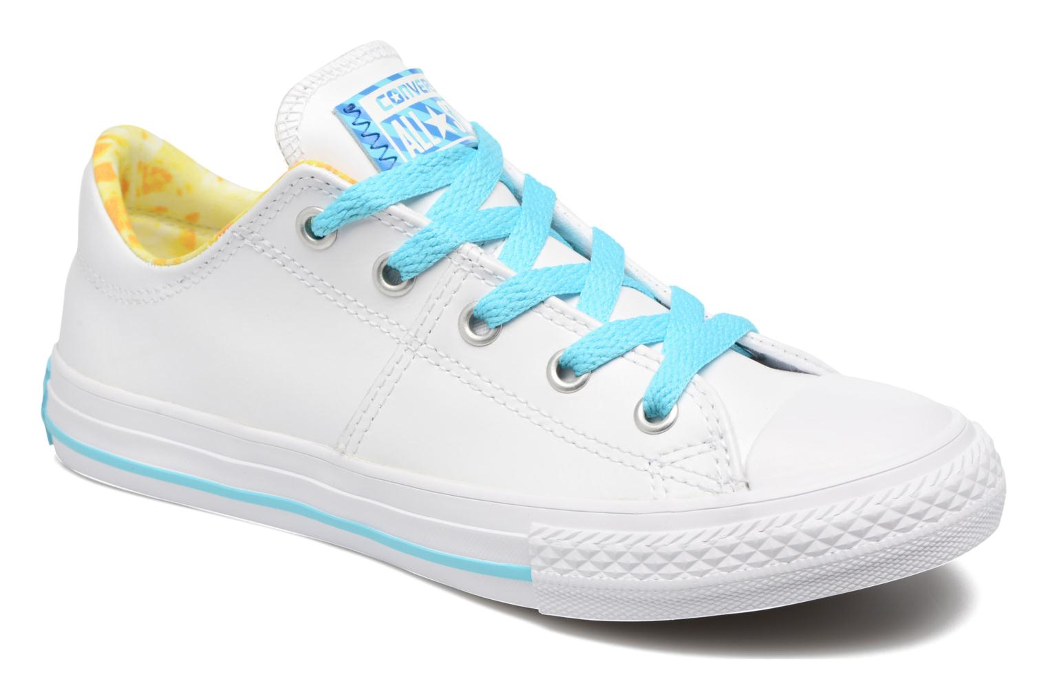 Baskets Converse Chuck Taylor All Star Madison Ox Blanc vue détail/paire