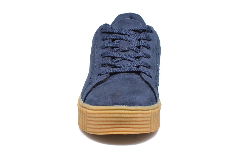 Baskets I Love Shoes Xumi Bleu vue portées chaussures