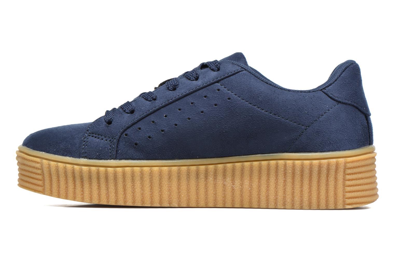Baskets I Love Shoes Xumi Bleu vue face