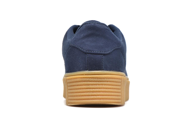 Baskets I Love Shoes Xumi Bleu vue droite