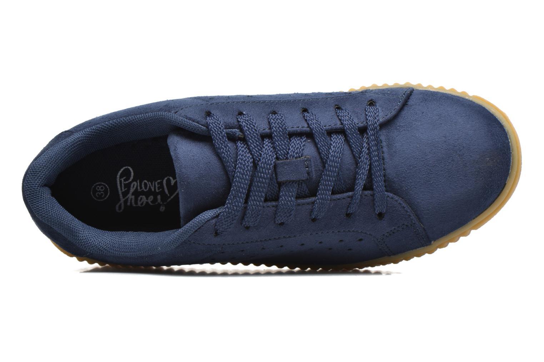 Baskets I Love Shoes Xumi Bleu vue gauche