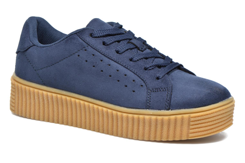 Baskets I Love Shoes Xumi Bleu vue détail/paire