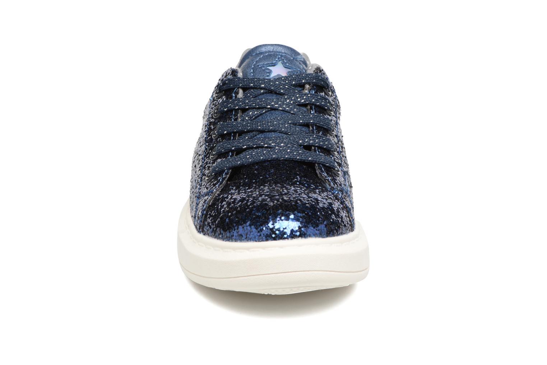 Baskets I Love Shoes Xucro Bleu vue portées chaussures