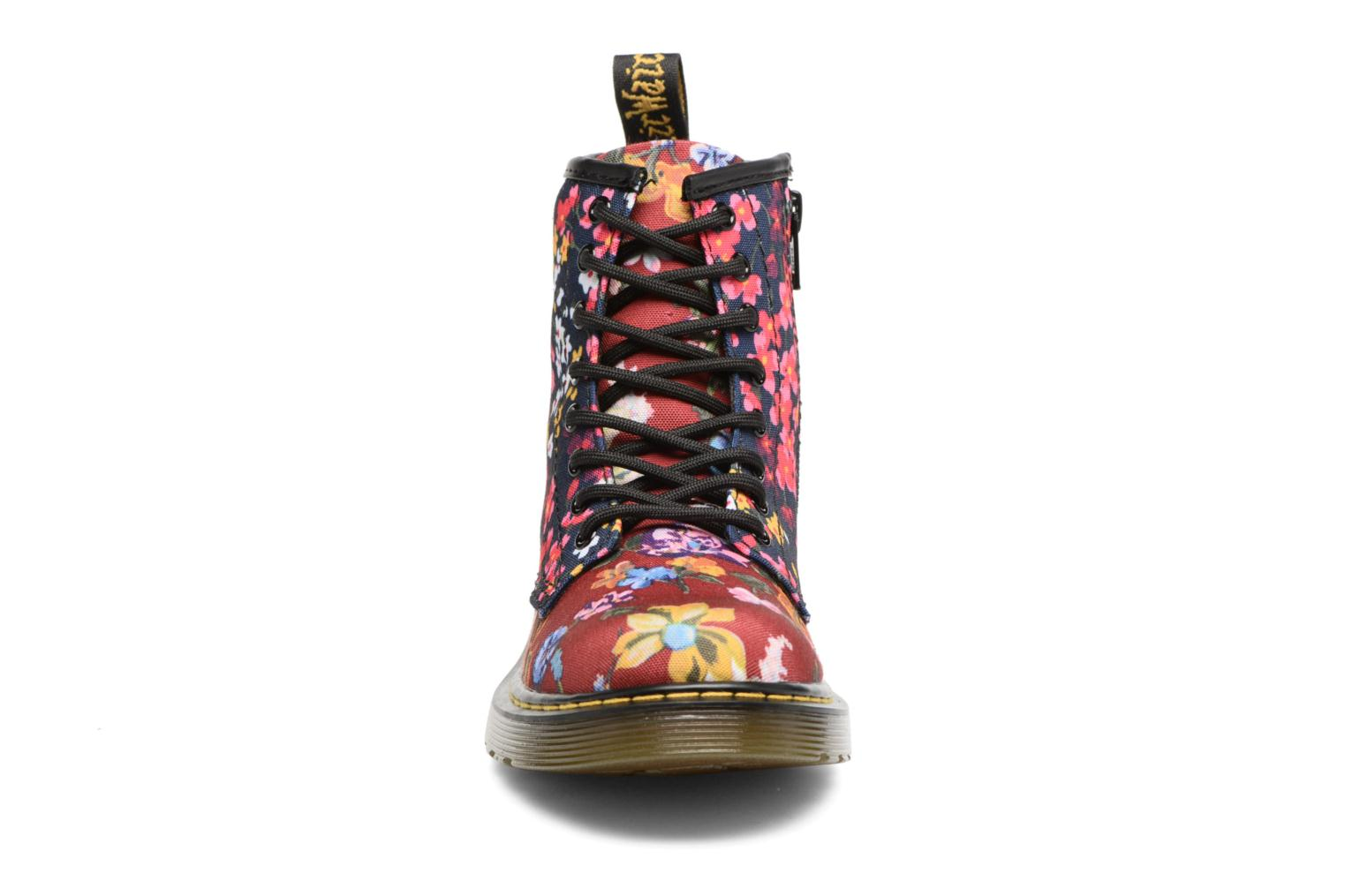 Brookle FC Infants lace boot Dark Red/Indigo