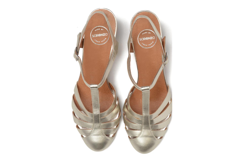 Sandales et nu-pieds Made by SARENZA Donut hut #11 Argent vue portées chaussures