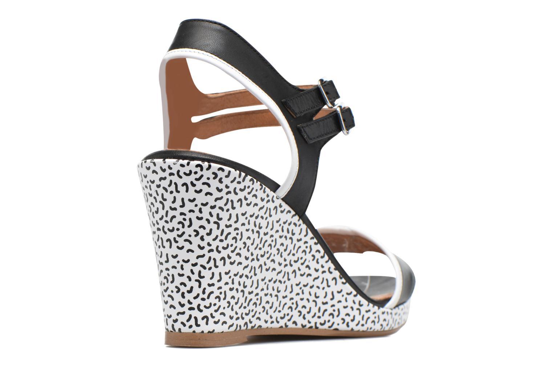 Sandales et nu-pieds Made by SARENZA Pastel Belle #10 Noir vue face