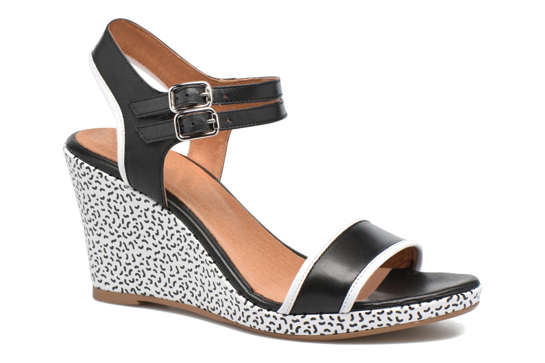 Sandales et nu-pieds Made by SARENZA Pastel Belle #10 Noir vue droite