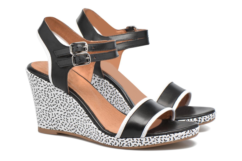 Sandales et nu-pieds Made by SARENZA Pastel Belle #10 Noir vue derrière