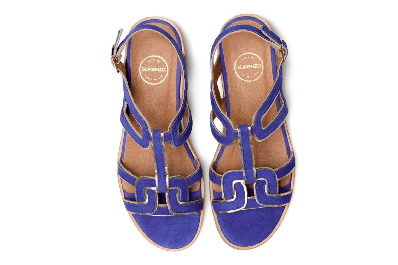 Sandales et nu-pieds Made by SARENZA Frida Banana #3 Bleu vue portées chaussures