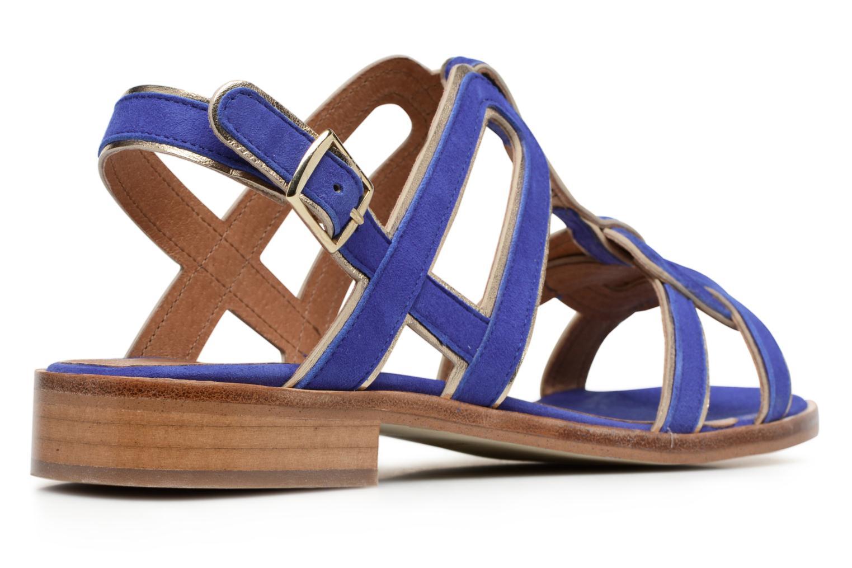 Sandales et nu-pieds Made by SARENZA Frida Banana #3 Bleu vue face