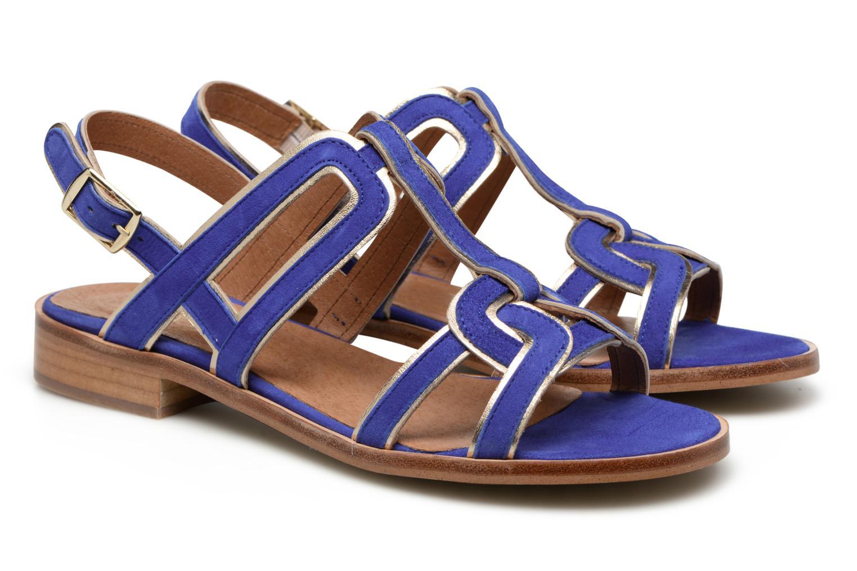 Sandales et nu-pieds Made by SARENZA Frida Banana #3 Bleu vue derrière