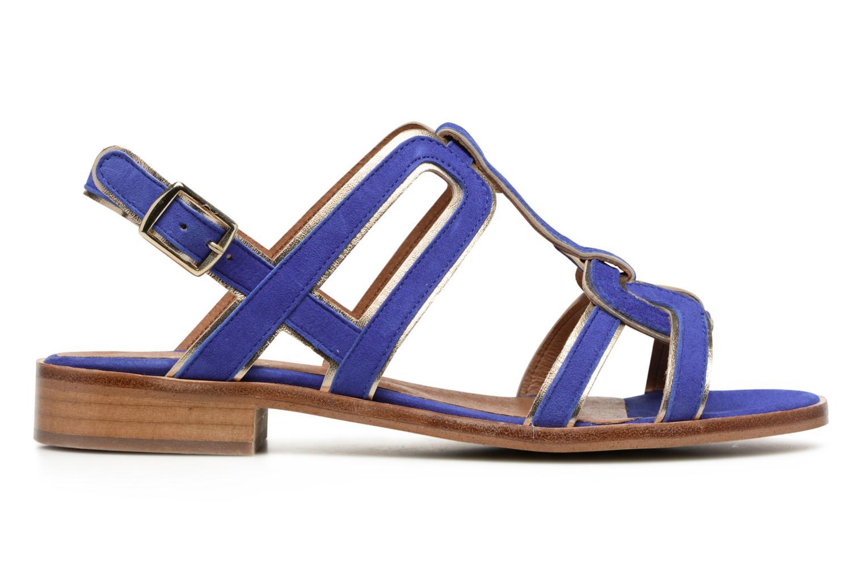 Sandaler Made by SARENZA Frida Banana #3 Blå detaljeret billede af skoene