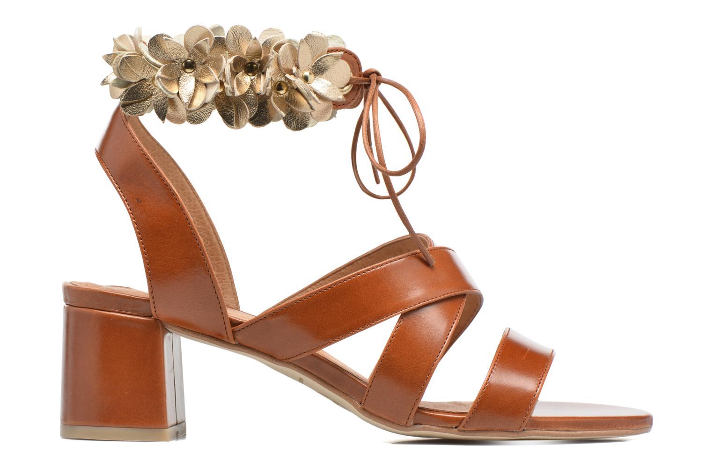 Marques Chaussure femme Made by SARENZA femme Frida Banana #4 Rodepe cognac fleurs estrella