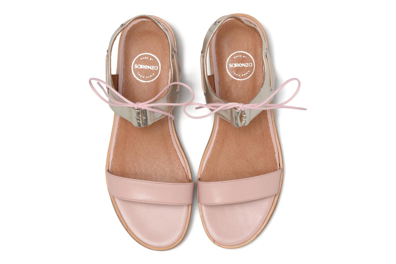 Sandalias Made by SARENZA Pastel Belle #6 Rosa vista del modelo
