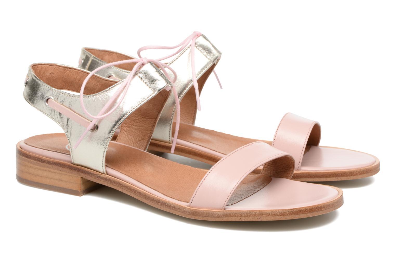 Sandalias Made by SARENZA Pastel Belle #6 Rosa vistra trasera