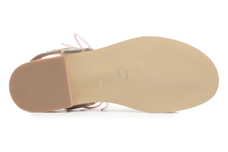 Sandalias Made by SARENZA Pastel Belle #6 Rosa vista de arriba