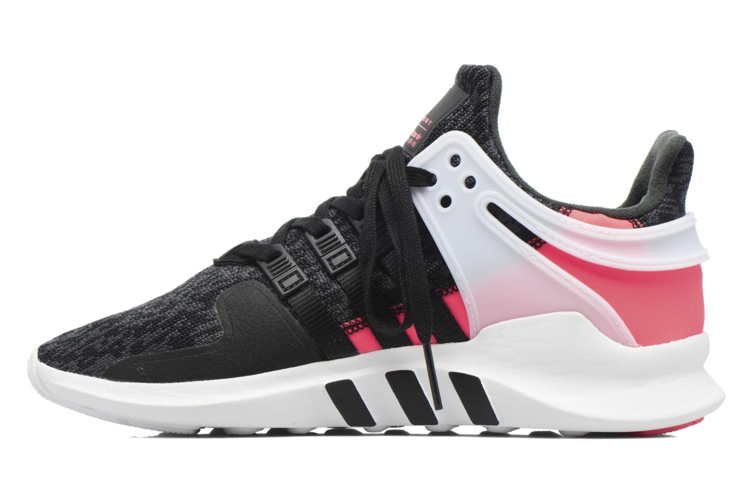 Baskets Adidas Originals Eqt Support Adv J Noir vue face