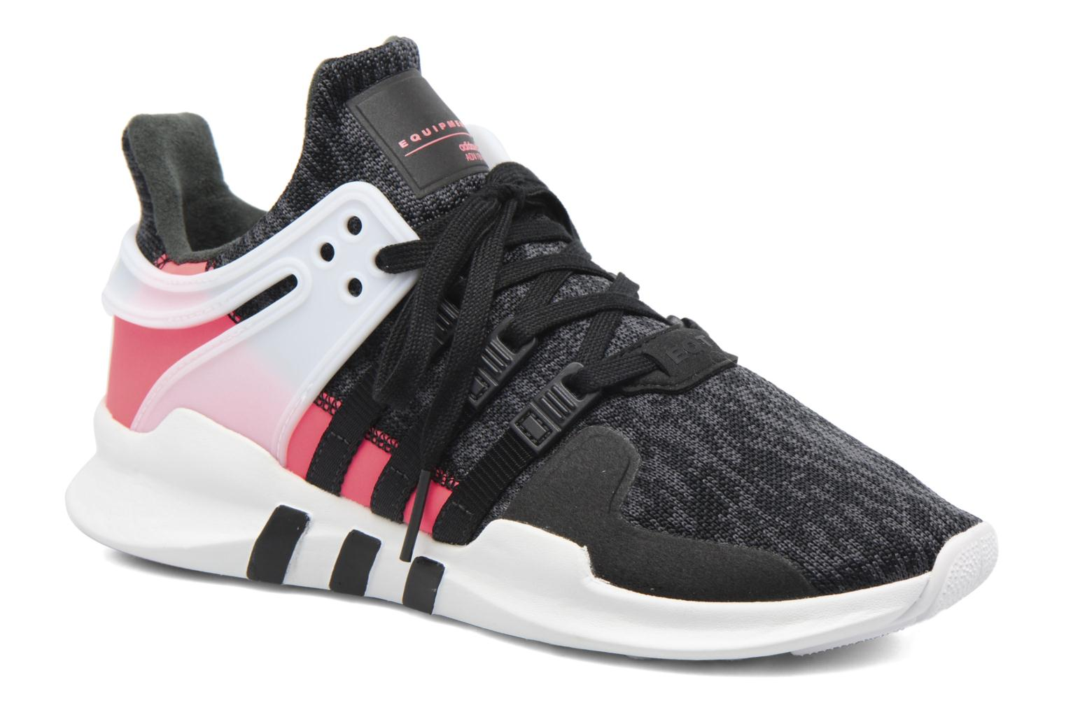 Baskets Adidas Originals Eqt Support Adv J Noir vue détail/paire