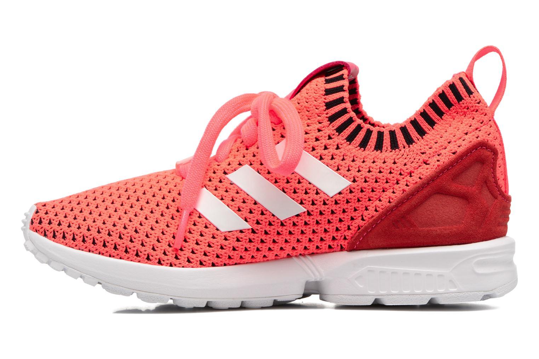 Turbo/Ftwbla/Noiess Adidas Originals Zx Flux Pk J (Rose)