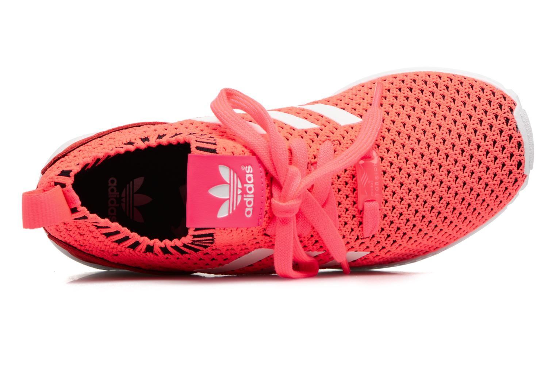Baskets Adidas Originals Zx Flux Pk J Rose vue gauche