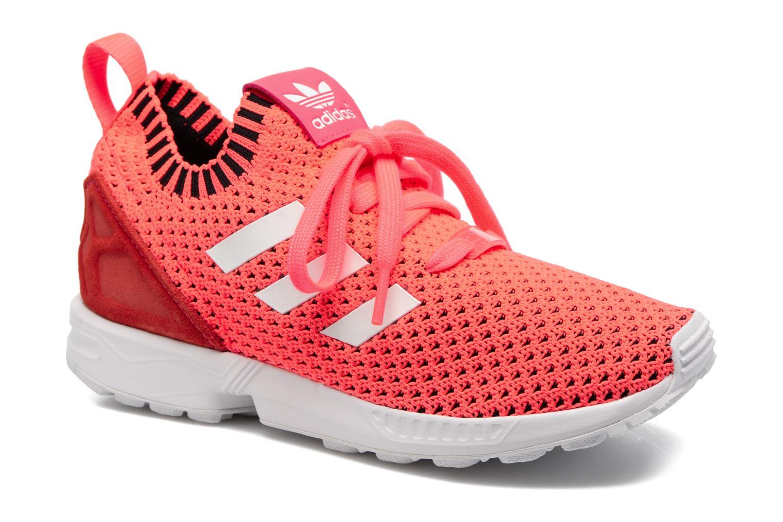 Sneakers Adidas Originals Zx Flux Pk J Pink detaljeret billede af skoene