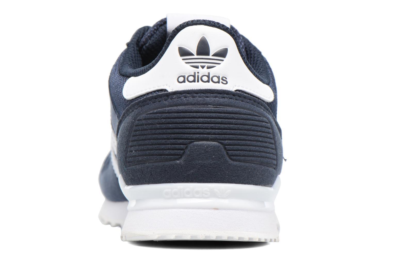 Baskets Adidas Originals Zx 700 J Bleu vue droite