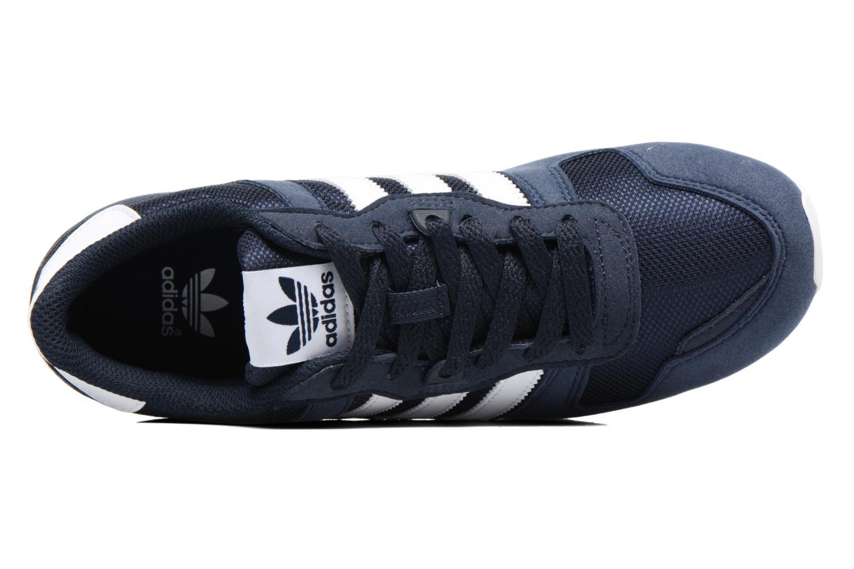 Baskets Adidas Originals Zx 700 J Bleu vue gauche